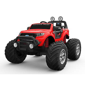 Licensed Ford Ranger 12V Monster Truck Electric Ride on Car With EVA Wheels