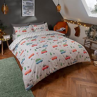Festliche Campervan Bettwäsche Set