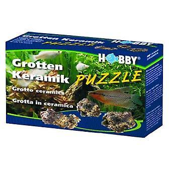 Harrastus ympäristössä: Grotten Puzzle 1 kg (kala, sisustus, kiviä & Caves)