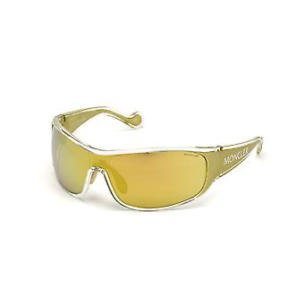 Moncler ML 0129 27G Crystal Other/Brown Mirror Sunglasses