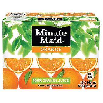 Minute Maid Orange Juice-( 341 Ml X 24 Bouteilles )