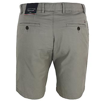 Tommy hilfiger men's pewter grey brooklyn light twill shorts