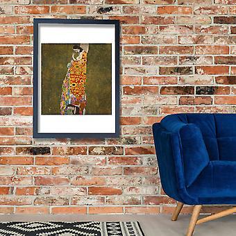 Gustav Klimt - Hope II Juliste Tulosta Giclee