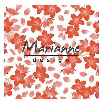 Marianne Design Embossing folder 3D - Blossom DF3446 14,1x14,1cm