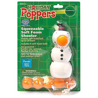 Popper de Noel - Bonhomme de neige