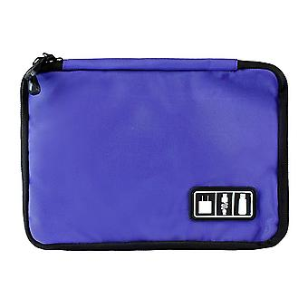 Bag, storage of cords, electronics - Purple