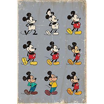 ミッキーマウスエボリューションマキシポスター
