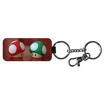 Super Mario Svampar Nyckelring