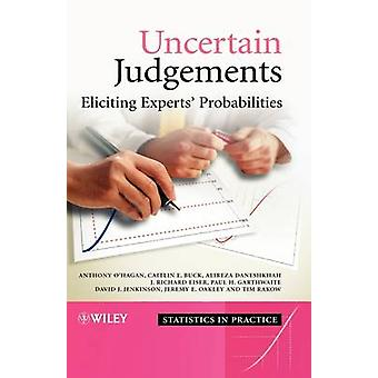 Uncertain Judgements - Eliciting Experts' Probabilities by Anthony O'H