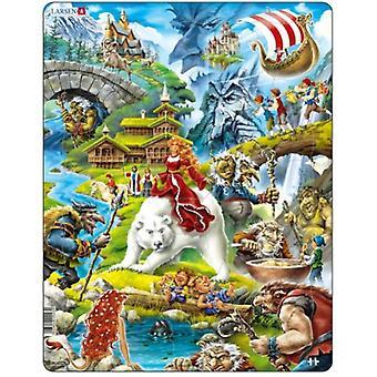 Larsen Jigsaw Puzzle - Fairytales, 30 Piece