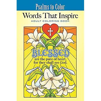 Psalms to Color - Words That Inspire by Ted Menten - 9781680991994 Book