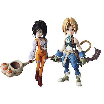 Final Fantasy IX Zidane & Garnet Bring Arts Figures