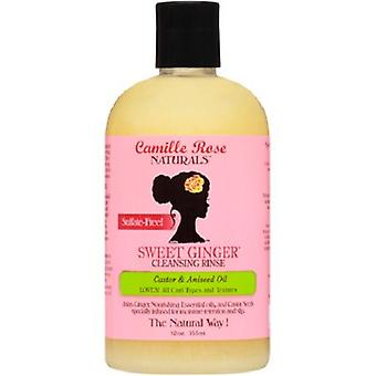 Camille Rose Sweet Ginger Cleansing Enjuague Castor & Aceite de Aguacate