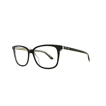 Dior Montaigne 27 TKX Black Crystal Glasses