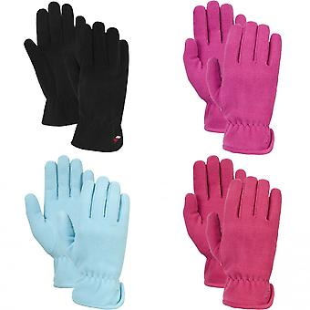 Trespass Womens/Ladies Plummet Fleece Gloves