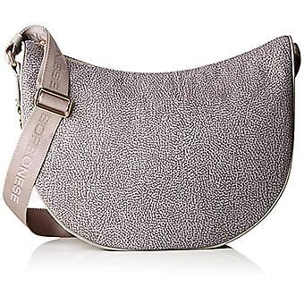 Borbonese 934261296 Women's shoulder bag (Slate Grey) 30x32x12 cm (W x H x L)