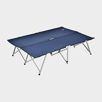 New Hi-Gear Dublu Pliere Camp Bed Navy