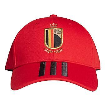 2020-2021 بلجيكا قبعة بيسبول (أحمر)