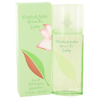 Green Tea Lotus Eau De Toilette Spray By Elizabeth Arden 3.3 oz Eau De Toilette Spray