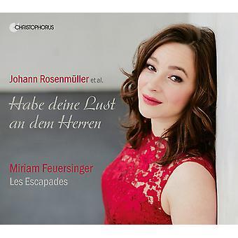Feuersinger - Habe Deine Lust an Dem Herren / Sacred Concertos [CD] USA import