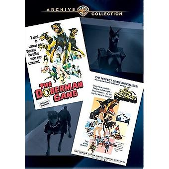 Doberman Gang/Those Daring Dobermans [DVD] USA import
