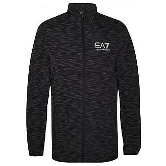 EA7 Black & Grey Digital Camo Windbreaker