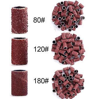Vrtáky na nehty, umělecké brusné pásy - Uv Gel Akryl polish remover