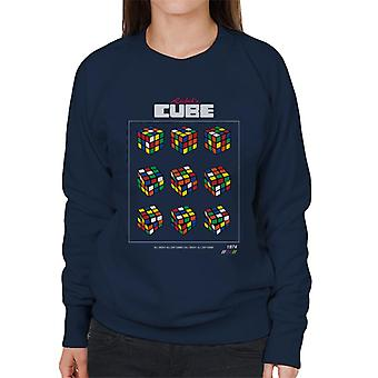 Rubik ' s retro kub flyttar kvinnor ' s tröja