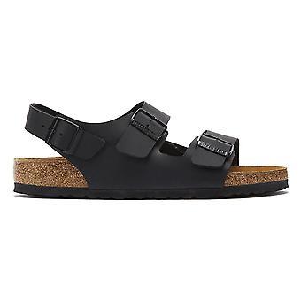 Birkenstock Milano Birko Flor mustat sandaalit