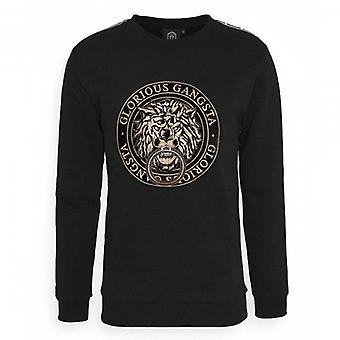 Glorious Gangsta Emmus Black Crew Neck Sweatshirt