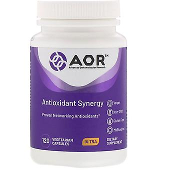 Advanced Orthomolecular Research AOR, Oxyntary Synergy, 120 Vegetarian Capsul