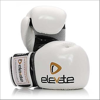 Elevate airtec boxing gloves - white black