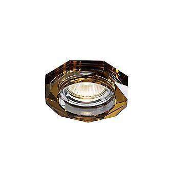 Downlight encastré deep hexagonal RIM ONLY Bronze, nécessite 100035310 pour compléter l'article