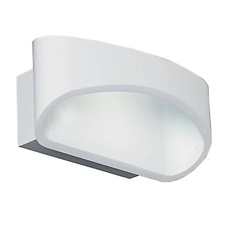 1 Light Indoor Wall Light Matt White