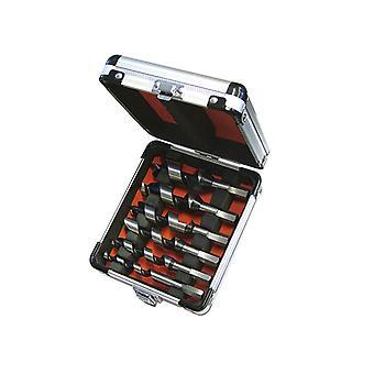 Faithfull Stubby Combinatie Hout Auger Bit Set 6 Stuk 10-25mm FAICASSET6