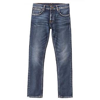 Nudie Jeans Grim Tim True Navy Jean