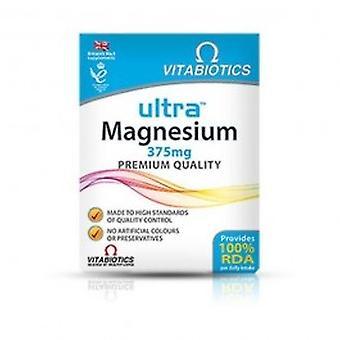 Vitabiotics - Ultra Magnesium 375mg 60 VTabs