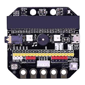 High Quality 1 Set Basic: Bit Io Expansion Board Horizontal Type Pinboard Microbit Python Development Board For Micro