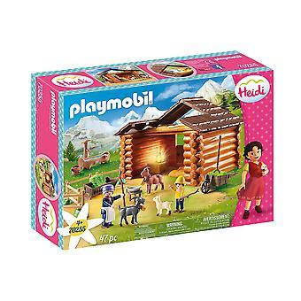 Playmobil - Heidi Peter's Goat Stable Playset