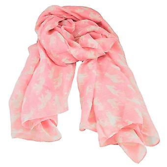 Ties Planet Elephant Animal Print Pink Lightweight Women-apos;s Châle Scarf