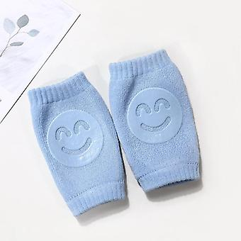 Kids Non Slip Crawling Elbow Infants Toddlers Baby Accessories Smile Knee Pads Protector Safety