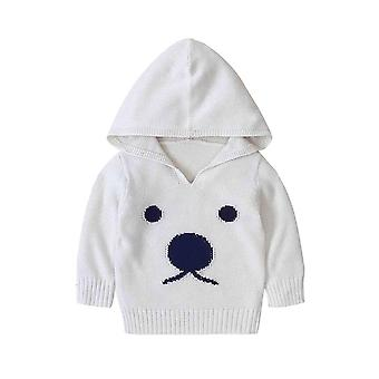 Baby Sweaters Cartoon Pattern Knitted- Newborn Bebe Girls Bunny Jumpers,