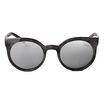 Cheapo Padang Sunglasses - Grey / Silver Mirror