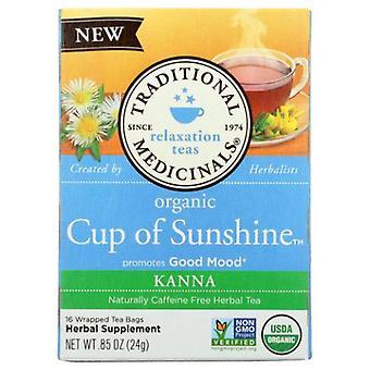 Traditional Medicinals Teas Organic Tea Cup of Sunshine, 16 Bags