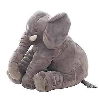 40cm/60cm Plush Cute Stuffed Elephant Dolls - Sleeping Back Cushions For Baby