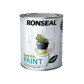 Ronseal Garden Paint Black Bird 750ml RSLGPBLKB750