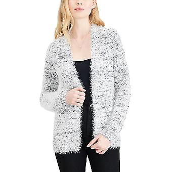Maison Jules | Fuzzy Open-Front Cardigan