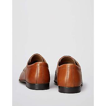 Brand - find. Men's Leather Derby Shoes with Lace Ups and Wing Tips
