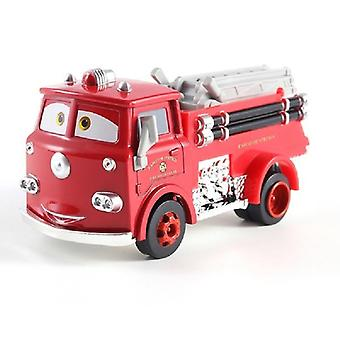Fire Truck Little Red Die Cast Metal Alloy Model Toy Car's