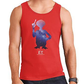 E.T. Galactic Silhouette Men's Vest